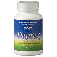 Vaxa International Deprex - 60 Capsules - Stress & Anxiety Support