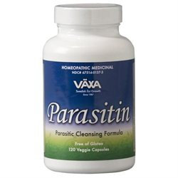 Vaxa International Parasitin - 120 Capsules - Other Homeopathics
