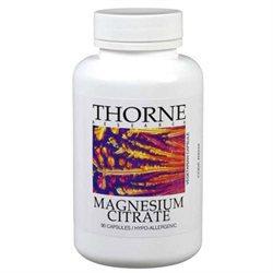 Thorne Research - Magnesium Citrate 140 mg. - 90 Vegetarian Capsules