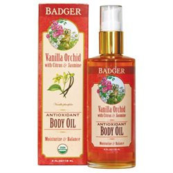 Badger Vanilla Orchid Antioxidant Body Oil