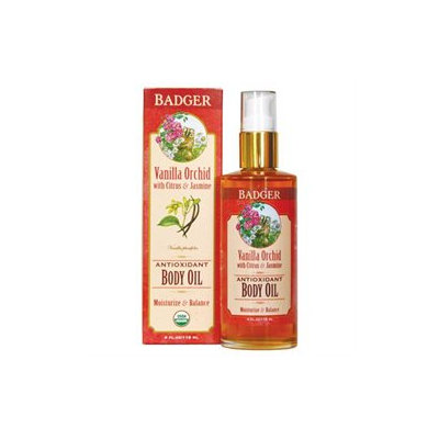 BADGER® Vanilla Orchid Body Oil