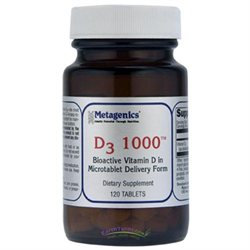 Metagenics - D3 1000 - 120 Tablets