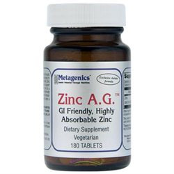 Metagenics - Zinc A.G. - 180 Tablets