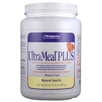 Metagenics - UltraMeal Plus Medical Food Natural Vanilla - 23 oz.