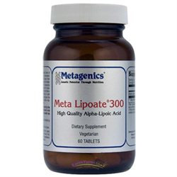 Metagenics - Meta Lipoate 300 - 60 Tablets