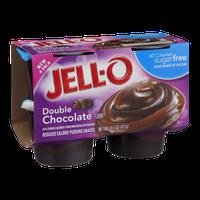 Jell-O Pudding Snacks Double Chocolate Sugar Free - 4 CT