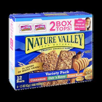 Nature Valley™ 100% Natural Crunchy Granola Bars Variety Pack