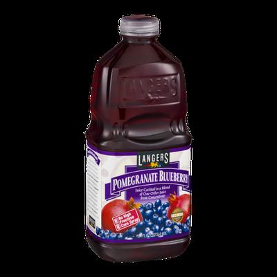 Langers Pomegranate Blueberry Juice Cocktail