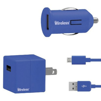 Just Wireless Mobile Phone Battery Charger - Blue (24002)