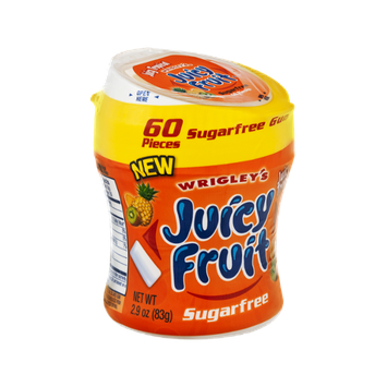 Wrigley's Juicy Fruit Juicy Tropical Sugarfree Gum - 60 CT