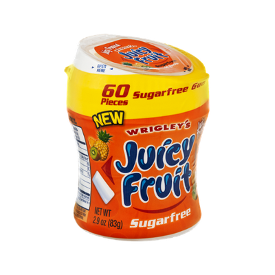 Wrigley's Juicy Fruit Juicy Tropical Sugarfree Gum - 60 CT
