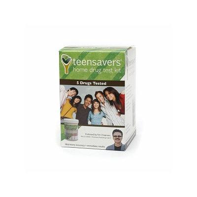 Teensavers Home Drug Test Kit - 5 Drugs Tested