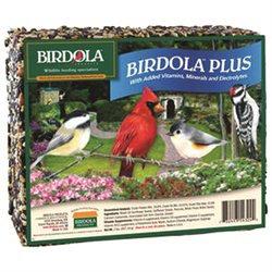 Birdola Products BDOLA543242 6.80 T x 2.00L x 8.00W Birdola Plus Cake - Complete Bird Meal