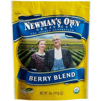 Newman's Own man's Own Organics Berry Blend (Dried Fruit), 5-Ounce Pouches (Pack of 12)