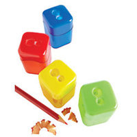 Office Depot(R) Brand Manual Pencil Sharpeners, Assorted Colors