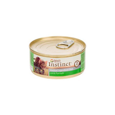 Nature's Variety Instinct Grain-Free Limited Ingredient Diet Lamb Canned Cat Food, 5.5 oz, Case of 12