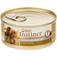 Nature's Variety Instinct Grain-Free Limited Ingredient Diet Duck Canned Cat Food, 5.5 oz, Case of 12