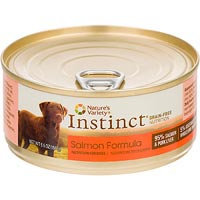 Nature's Variety Instinct Grain-Free Salmon Canned Dog Food, 5.5 oz, Case of 12