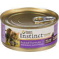 Nature's Variety Instinct Can Cat Rabbit 5.5 oz