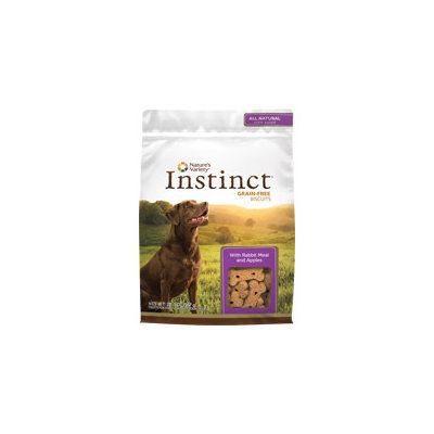 Natures Variety Instinct Biscuits-Rabbit & Apple-10 oz.