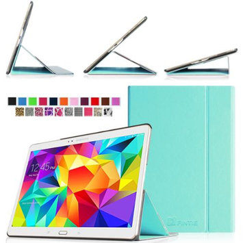 Fintie Ultra Slim Light Weight Stand Supports Three Viewing Angles Case for Samsung Galaxy Tab S 10.5 Tablet, Blue
