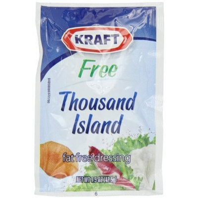 Kraft Foods Kraft Thousand Island Dressing, Fat Free, 1.5-Ounce Pouches (Pack of 60)