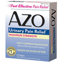 AZO Standard Maximum Strength Urinary Pain Relief