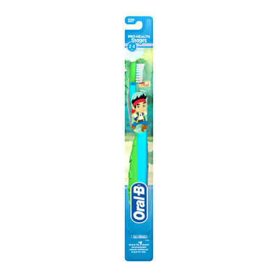 Oral-B Pro-Health Stages Extra Soft Manual Toothbrush Jake and the Neverland Pirates