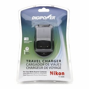DigiPower Travel Charger For Nikon Digital Cameras