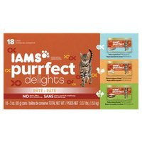 Iams™ Purrfect Delights™ Salmon-dipity, Turkey-Lation, Chicken-Dulgence Cat Food