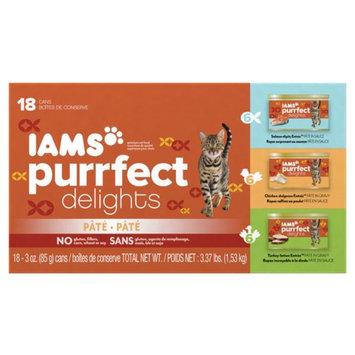 Iams™ Purrfect Delights™ Salmon-dipity, Turkey-Lation, Chicken-Dulgence Cat Food