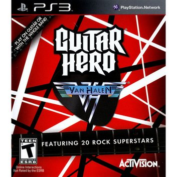 Activision Guitar Hero: Van Halen (PlayStation 3)