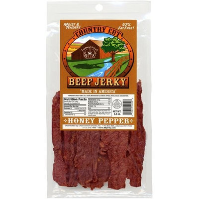 Buffalo Bills Premium Snacks Buffalo Bills 3.5oz Honey Pepper Country Cut Beef Jerky Pack