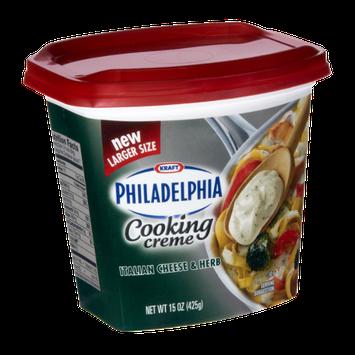 Philadelphia Italian Cheese & Herb Cooking Creme