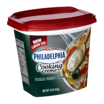 Philadelphia Italian Cheese & Herb Cooking Creme
