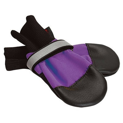 Muttluks, Inc. Muttluks Fleece Lined 4.75-Inch to 5.25-Inch Dog Boots, XX-Large, Purple, Set of 4