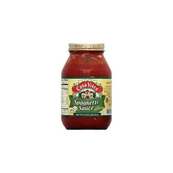 Casa Visco Sauce Psta Meatless 32 OZ -Pack Of 6