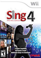 Crave Entertainment Sing 4: The Hits Edition with microphone