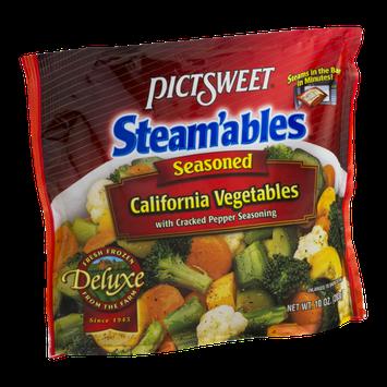 Pictsweet Steam'ables California Vegetables Seasoned