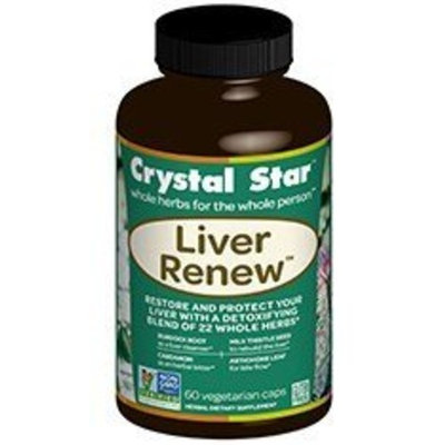 Crystal Star - Liver Renew - 60 Caps