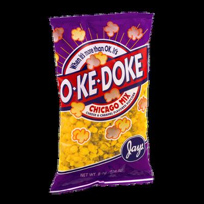 Jays O-Ke-Doke Chicago Mix Cheese & Caramel Flavored Popcorn