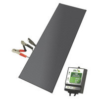 Miracle Products 40158 Nature Power 18 Watt Aluminum Solar Battery Charger Kit with 8 Amp CC