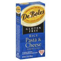 DeBoles De Boles Rice Pasta & Cheese, Elbow Style - 7.25 oz