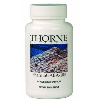 Thorne PharmaGABA-100, 60 Vegetarian Capsules