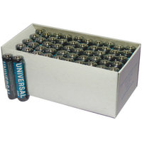UPG D5323/D5923 Super Heavy-Duty Battery Value Box (AAA; 50 Pk)