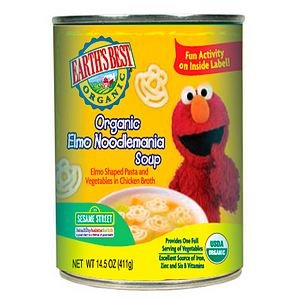 Earth's Best Sesame Street Organic Elmo Noodlemania Soup