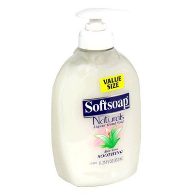 Softsoap Soothing Aloe Vera Moisturizing Hand Soap, 11.25 FL OZ (332 mL)