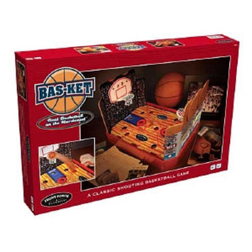 Front Porch Classics Wood Bas-Ket Ball Game Ages 8 and up, 1 ea