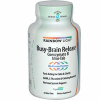 Rainbow Light Busy Brain Release Coenzymate B Mini-Tabs 60 Tablets