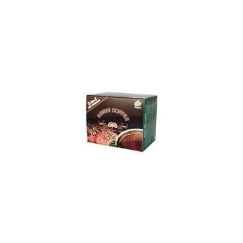 Longreen Reishi Coffee 2 in 1, Selected Premium Coffee, Reishi Extract and Instant Coffee, 30 Bags Per Box